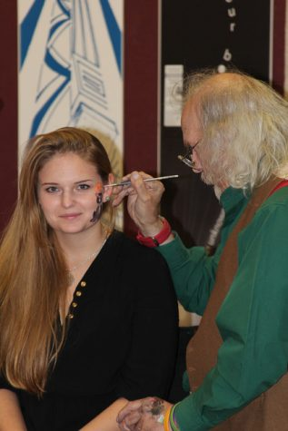 Those who attended had a face painting of their choice included in the price of the ticket.   Natasha Neills for The Easterner