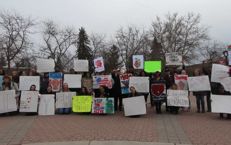 EWU Graduate Students Lead A Campus for Dreams Rally
