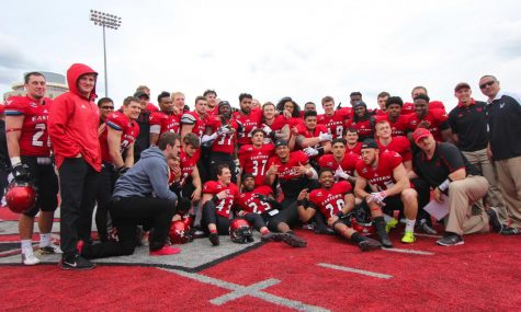 EWU Football Shows Depth in Red-White Spring Game
