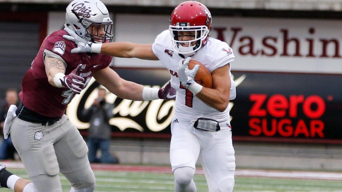 No. 11 EWU Football Outlasts Rival Montana, 48-41