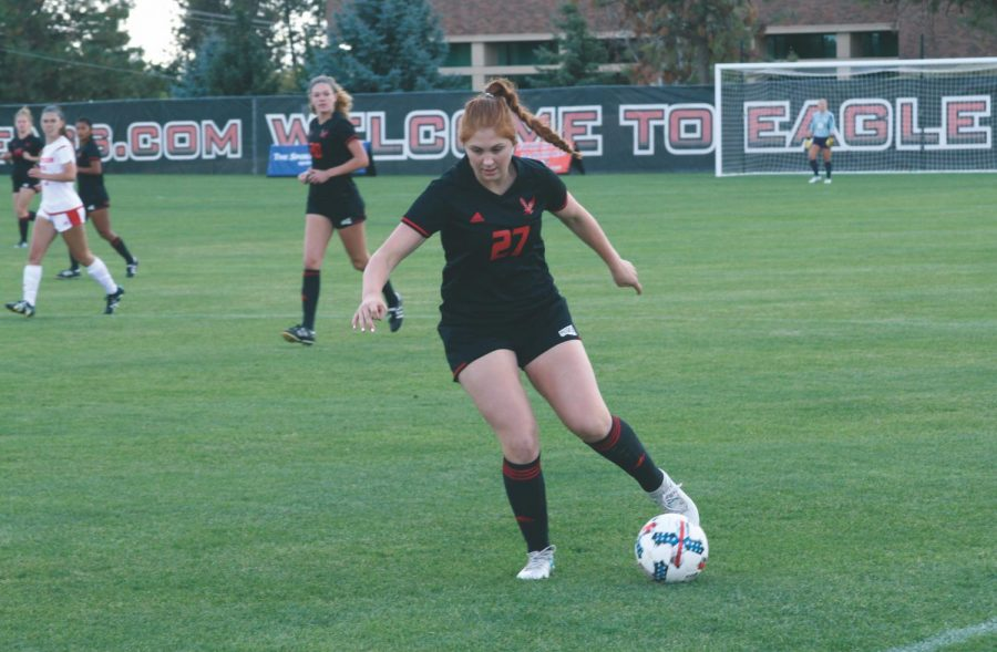 EWU women's soccer remains perfect in BSC play with two road wins