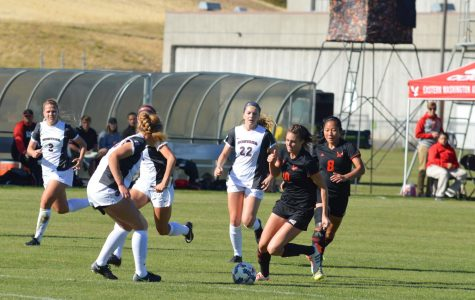 With two wins, EWU soccer clinches regular season title and Chloe Williams breaks Big Sky goal record