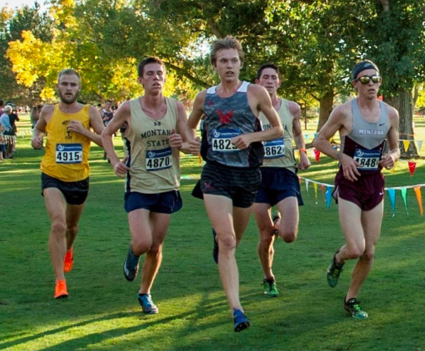 Johnsen winning the Montana Invitational on Sept. 29. Courtesy of EWU Sports Information.