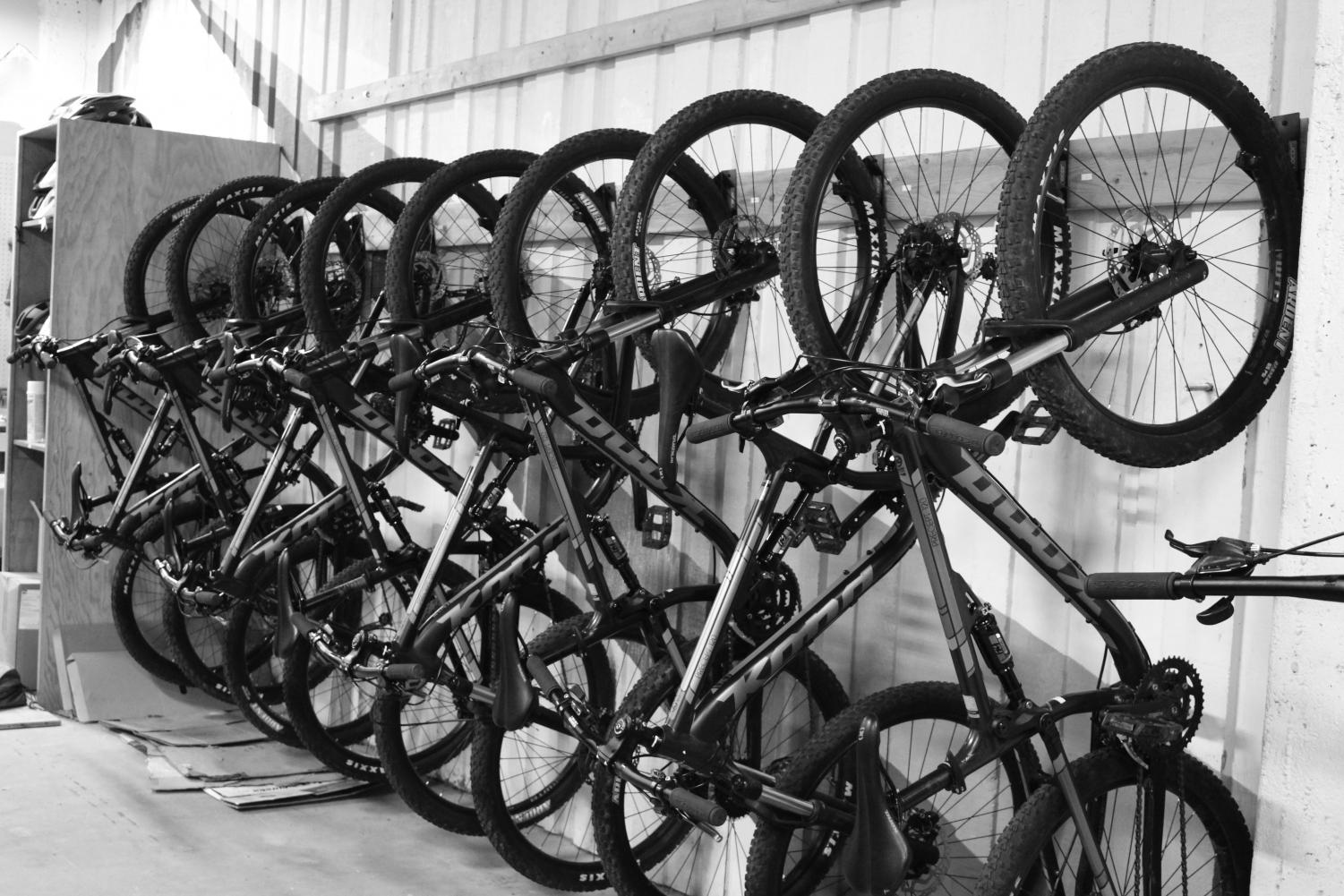 EPIC is offering bike rentals to EWU Students. The bike shop is opened a few weeks ago, but the cold weather has slowed business | Mckenzie Ford for The Easterner