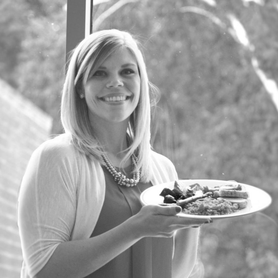 Registered dietitian Natalie Stein was recently hired as EWU's Manager of Nutrition and Sustainability. Stein offers free diet consultations for students, potentially saving them hundreds of dollars | Photo courtesy of EWU Dining Services