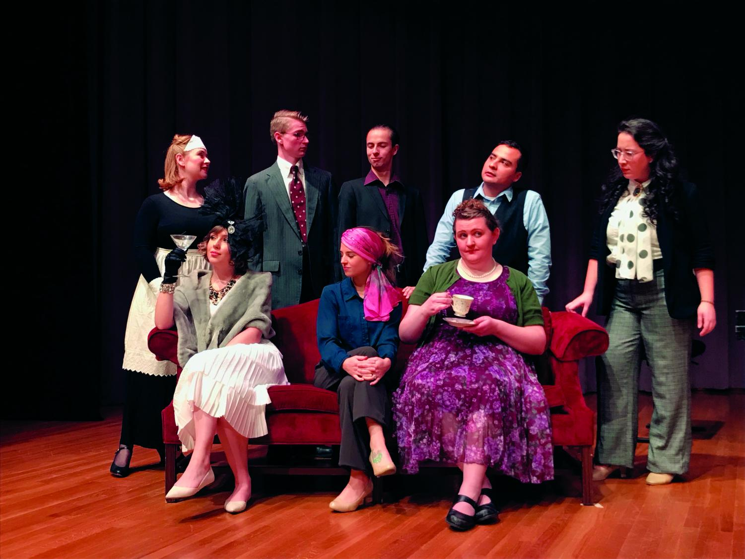 The EWU Opera Department's first Pastiche of the year, Murder Mystery Night. The Opera Department is working on completing three productions this school year | Photo courtesy of EWU Opera Department