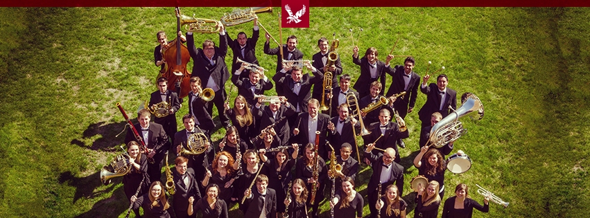 EWU Jazz band poses for a group photo. The band will be performing at the Dialogue Festival | Courtesy of EWU Music