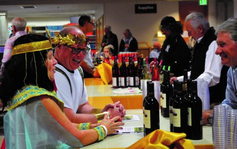 Annual library fundraiser draws costumed crowds