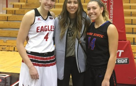 EWU women's basketball drops game to Boise State as Hodgins sisters reunite