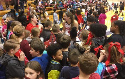 EWU women's basketball flattens Multnomah on Kid's Day