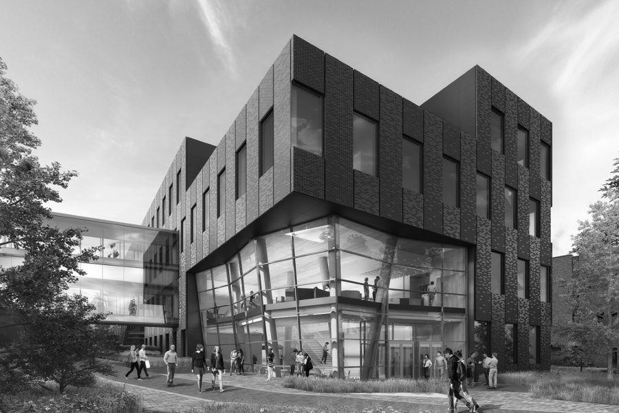Due to the 2017-19 capital budget being passed by the state legislature last week, the new EWU Interdisciplinary Science Center is moving forward with construction   Photo courtesy of EWU