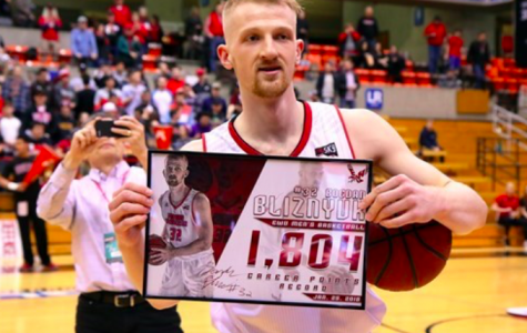 EWU men's basketball sweeps the weekend as Bliznyuk sets scoring record