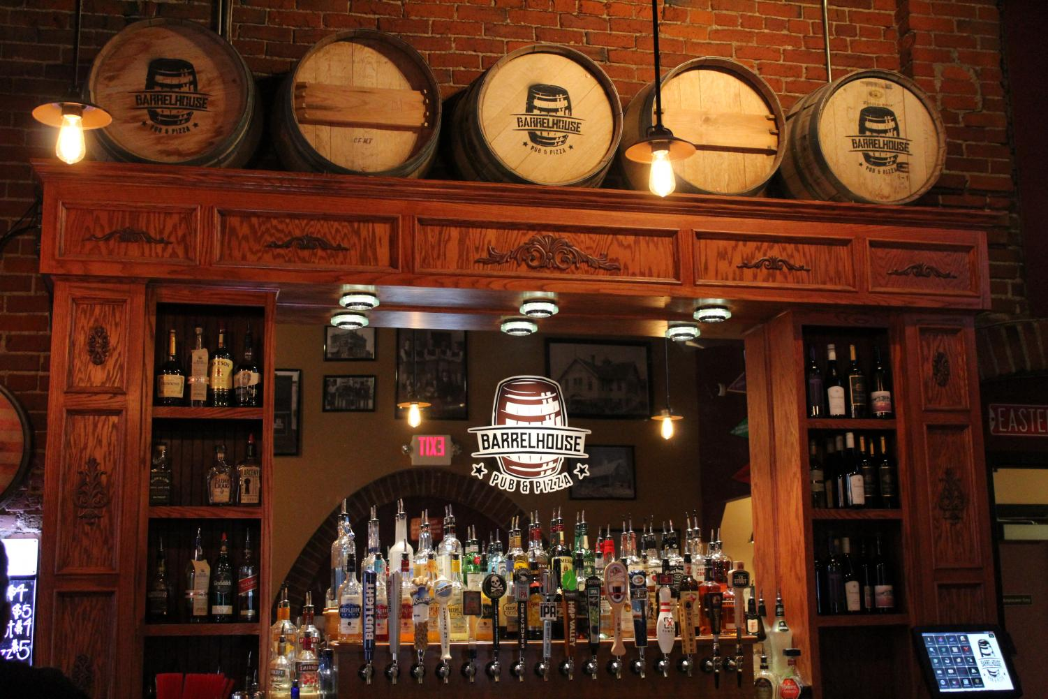 Barrelhouse Pub & Pizza has daily drink specials. The location opened last year in January | Mckenzie Ford for The Easterner