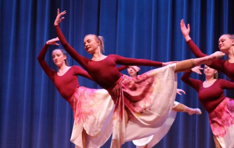 Dancers integrate science and art in moving performance