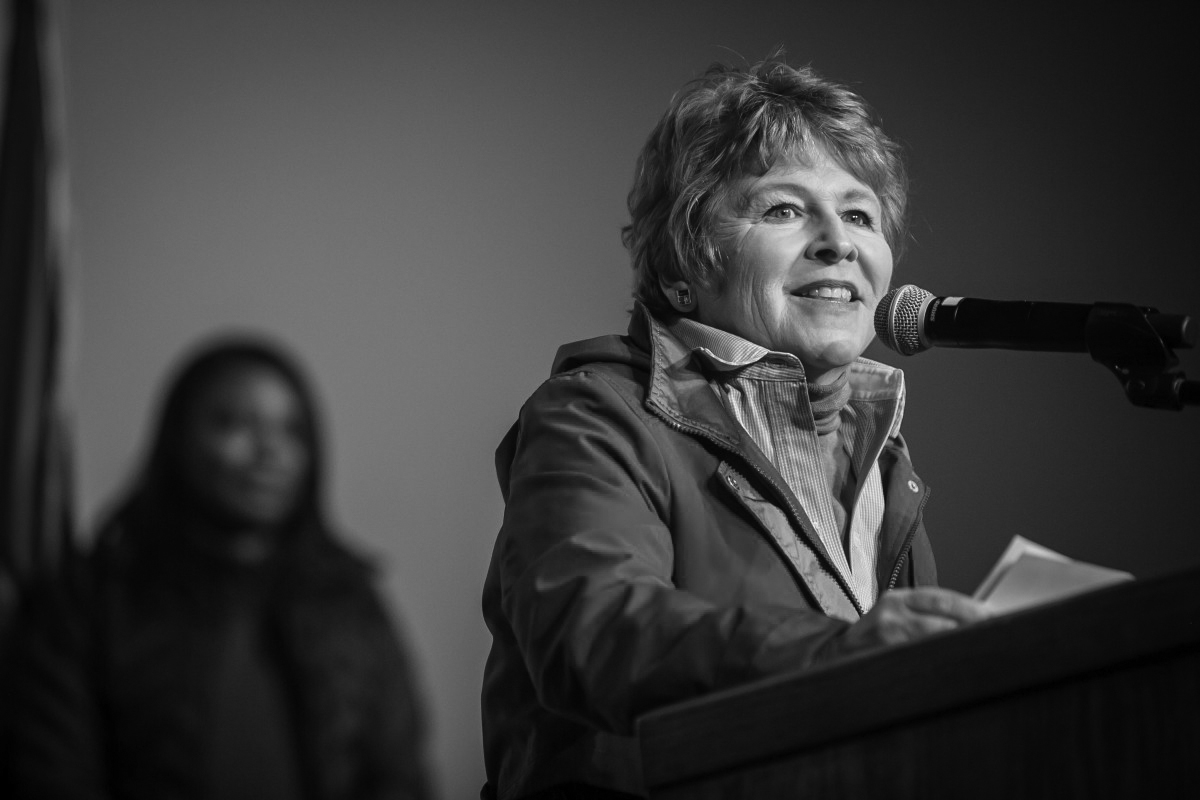 Former EWU professor Lisa Brown is running against Cathy McMorris Rodgers for Congress. Brown will hold a forum on Feb. 11 in Cheney at the Wren Pierson Community Center | Photo courtesy Lisa Brown