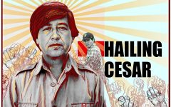 """Eduardo Chavez explores his roots and finds himself in """"Hailing Cesar"""""""
