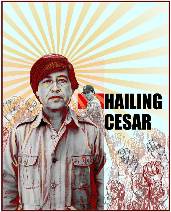 "Eduardo Chavez explores his roots and finds himself in ""Hailing Cesar"""