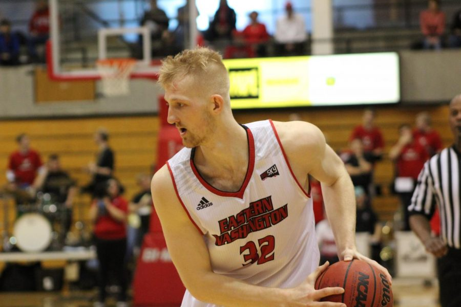 Bogdan Bliznyuk, who was named the 2018 Big Sky Conference MVP, will make his NBA Summer League debut on July 6, 2018. | Easterner Archives