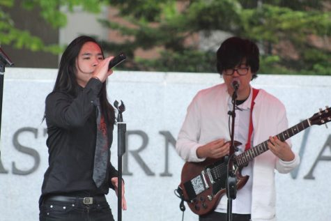 Asian-American band goes from Supreme Court to EWU stage