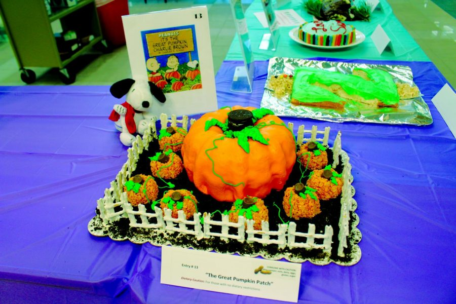 The Charlie Brown entry won the most votes this year and received a $100 gift card. The number of entries and participants increased this year   Tania Nunez for The Easterner