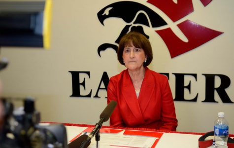 EWU Athletic Director Lynn Hickey and the athletic department prep for a busy summer