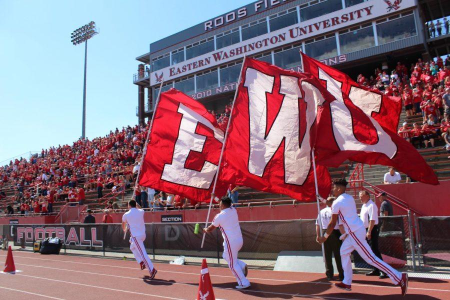 The+EWU+colors+fly+before+the+football+season+opener+against+Central+Washington+University+on+Sept.+1.+EWU+beat+CWU+58-13+%7C+Jeremy+Burnham+for+The+Easterner