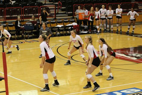 EWU Volleyball falls in straight sets again