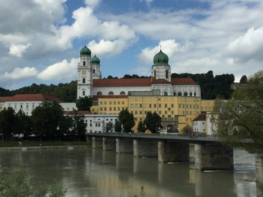 The German program is celebrating its 25-year anniversary of the EWU-University of Passau exchange program as well as introducing Shaping German Campus Week. The photo above was taken in Passau, Germany and was submitted by Jody Stewart-Strobelt, a German senior lecturer and the EWU-Passau exchange program coordinator.