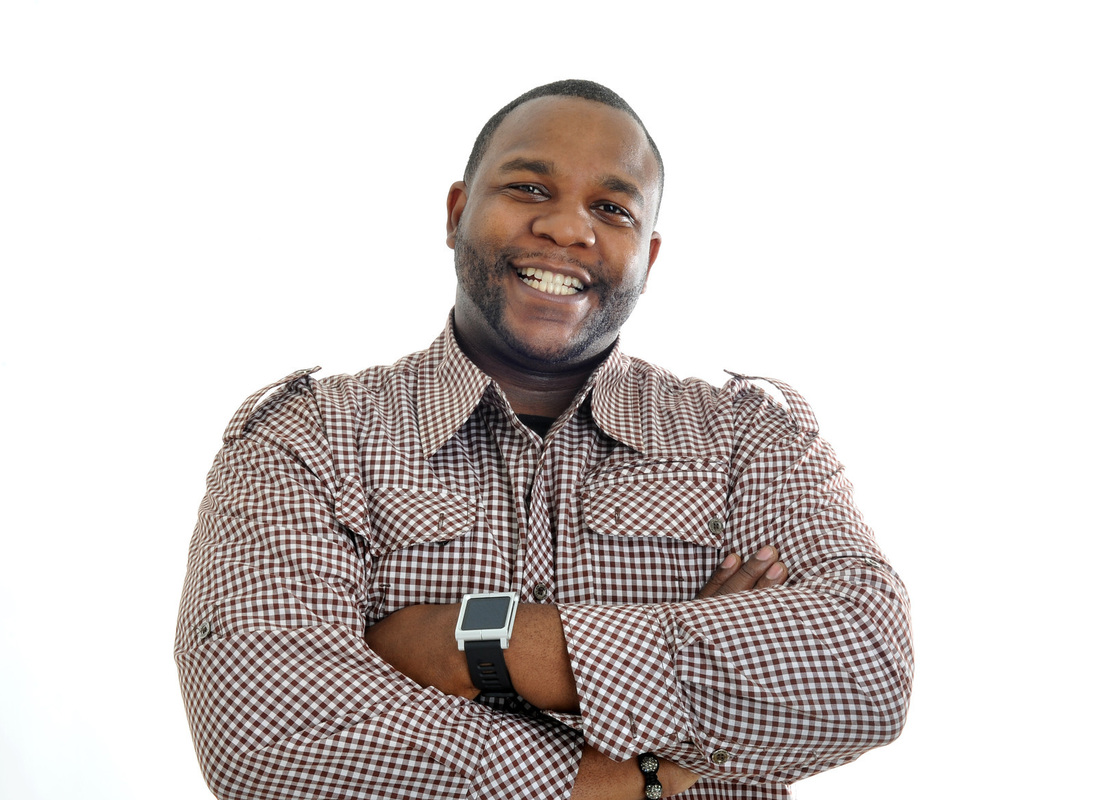 EWU alumnus and comedian Nate Jackson smiles big for the camera. Jackson's comedy career launched from a college dare in 2003. | Courtesy of Nate Jackson