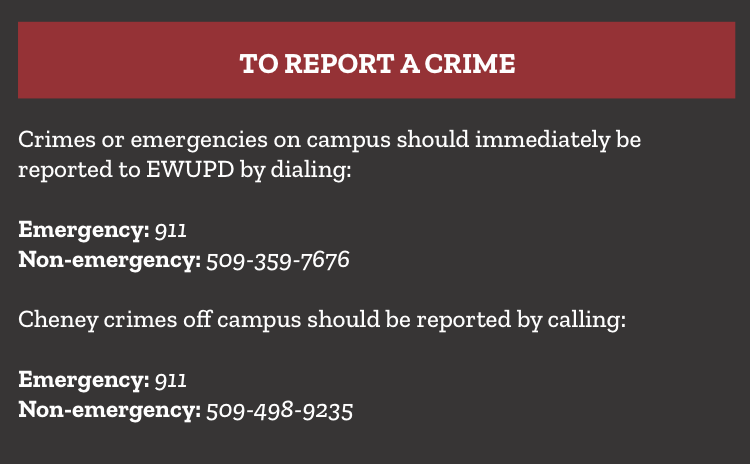 Campus crime reports released