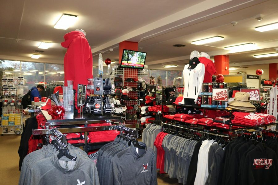 The current EWU bookstore. The bookstore will move to PUB and rebrand as The Eagle Store later this year.