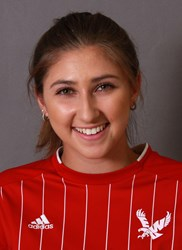 Freshman defender Ashley Valdivieso