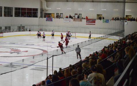 Fans in full force for EWU hockey