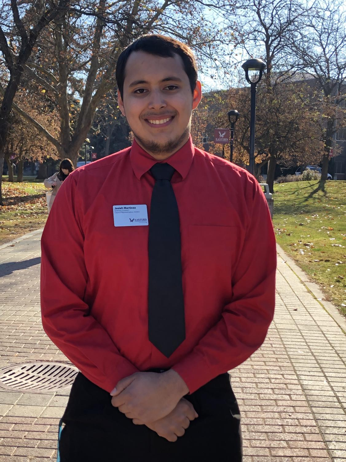 Josiah Martinez, ASEWU Diversity Outreach Council representative, planned and organized the Unity Day event. Clubs and organizations from around campus participated in Unity Day.
