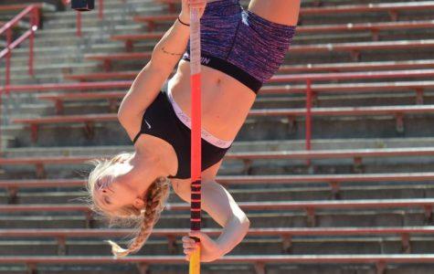 Women's vaulters raise the bar