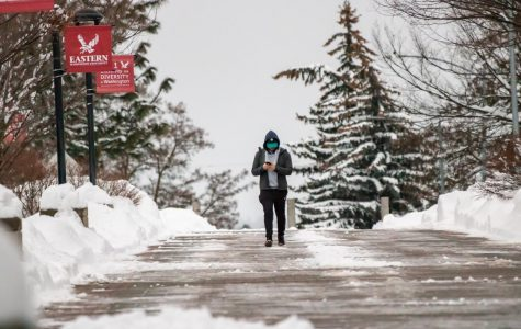 Heavy snowfall shuts down EWU campuses for two days