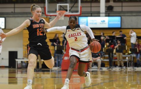 EWU women's hoops tie season low in defeat to Idaho State