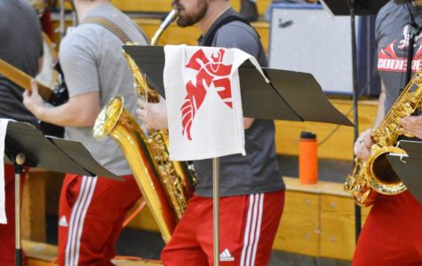 EWU's band trumpets spirit for sports