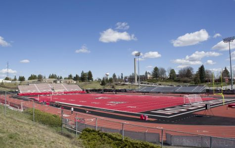 Woodward Field was originally constructed in 1967 for $1.5 million and was renamed Roos Field in 2010 after former Eagle lineman Michael Roos. Roos funded half of the 2010 project to bring in the iconic red turf that makes EWU's football venue different than every other in the nation.
