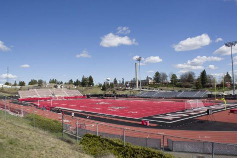 Woodward Field was originally constructed in 1967 for $1.5 million and was renamed Roos Field in 2010 after former Eagle lineman Michael Roos. Roos funded half of the 2010 project to bring in the iconic red turf that makes EWU