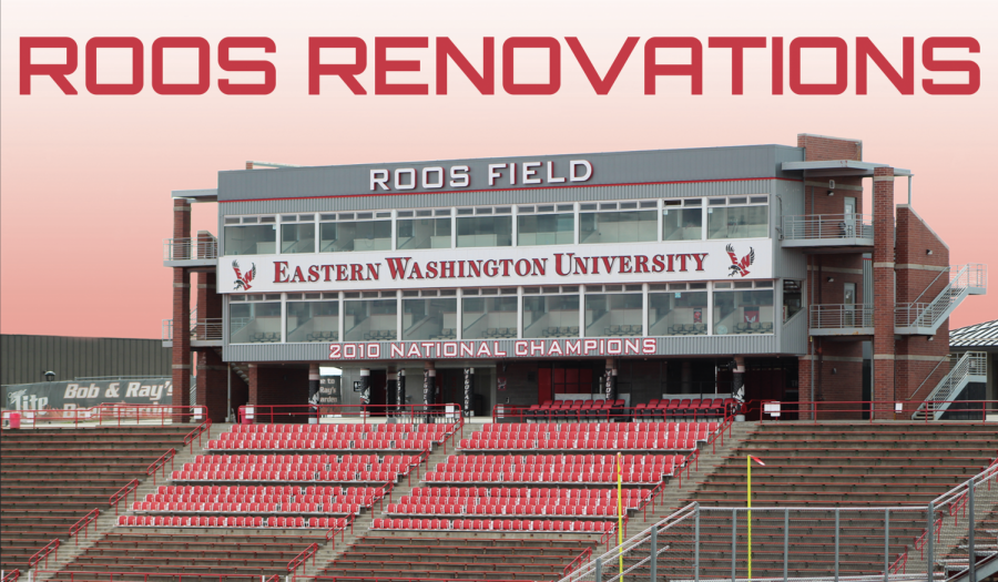 Roos Field's last change came in 2010 with the addition of the red turf, and was previously renovated in 2004 as part of a $4.5 million stadium overhaul. EWU Athletic Director Lynn Hickey will make a stadium renovation proposal to the board of trustees on May 10.