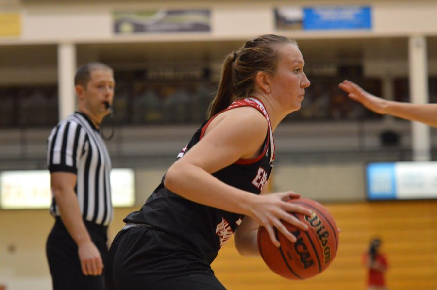 Sophomore guard Grace Kirscher is EWU's leading returning scorers this year.