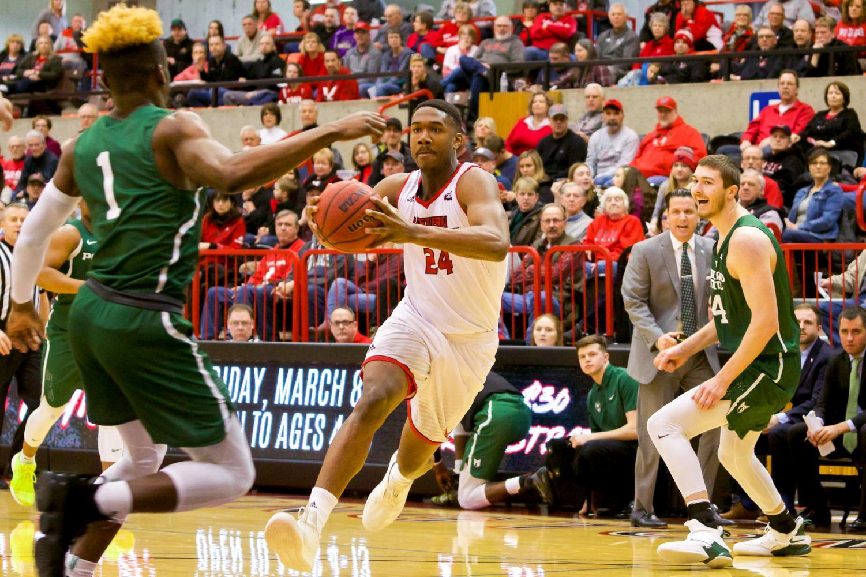 EWU sophomore guard/forward Kim Aiken Jr. will look to build upon his successful ending to last season.