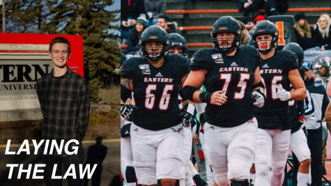 EWU players take the field during the 2019 season. As of press time, no EWU players had signed a UDFA contract or been invited to a rookie minicamp with an NFL team.