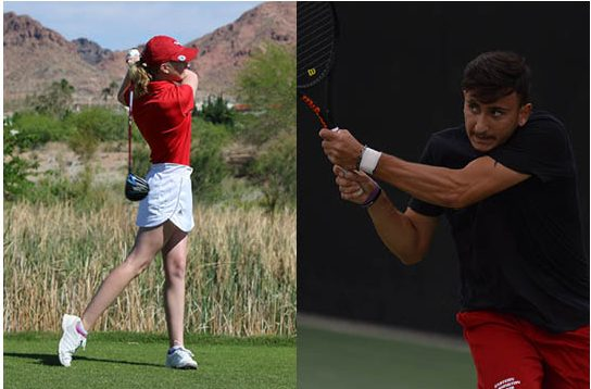 EWU seniors in spring sports, including Madalyn Ardueser of the golf team and Mikayel Kachatryan of the mens tennis team, saw their final seasons at EWU come to an abrupt end this year.