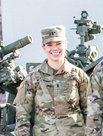 1LT Miranda Munsell (EWU Army ROTC Class of 2016)