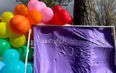 Navigation to Story: Pride Center celebrates Lavender Graduation outside
